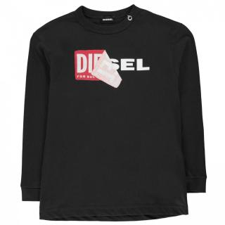 Diesel Tedri Long Sleeve T Shirt pánské Other 10 Yrs