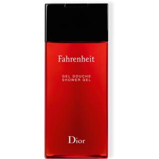 Dior Fahrenheit sprchový gel pro muže 200 ml pánské 200 ml