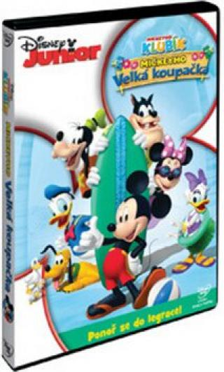 Disney Junior: Mickeyho velká koupačka DVD