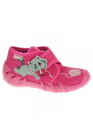 Dívčí bačkory Befado 523P013 růžová 21