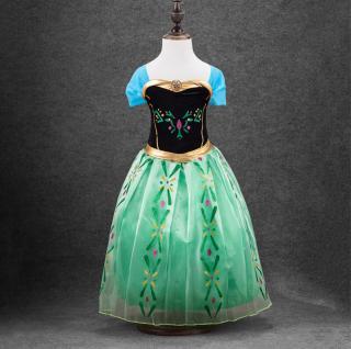 Dívčí barevné šaty Velikost: 3