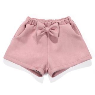 Dívčí kraťasy s mašlí - 5 barev Barva: růžová, Velikost: 2