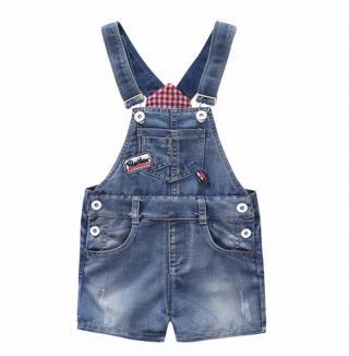 Dívčí laclové džínové šortky Velikost: 6-12 měsíců