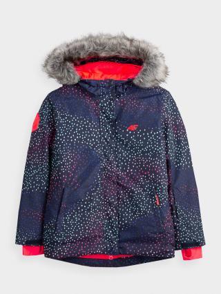 Dívčí lyžařská bunda  128
