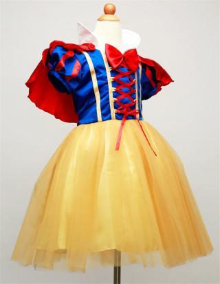 Dívčí šaty s korunkou - Sněhurka Velikost: 9-12 měsíců