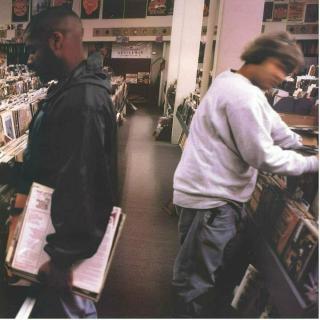 DJ Shadow Endtroducing  Mástrované poloviční rychlostí