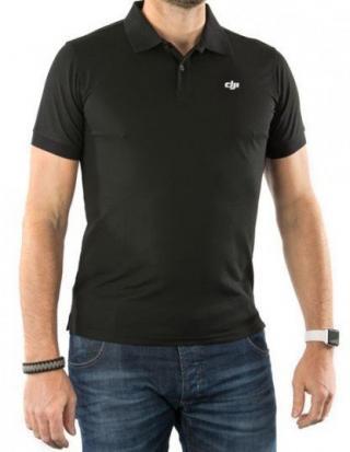DJI Black POLO-ShirtXXL - DJIP102