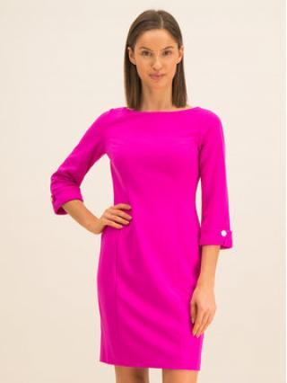 DKNY Koktejlové šaty DD9J1203 Růžová Regular Fit dámské 2