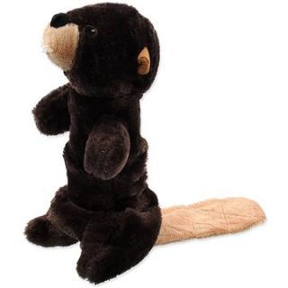 DOG FANTASY hračka plush pískací bobr 45 cm