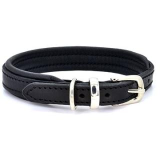 Dogs & Horses Padded Leather Black / Black M