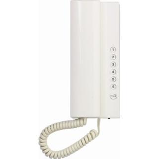 Domovní telefon TESLA 2-BUS ELEGANT bílá 4FP 211 03.201