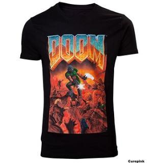 DOOM Classic Box Art - tričko XXL