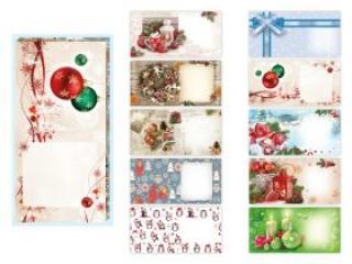 Dopisní obálka MFP DL vánoční