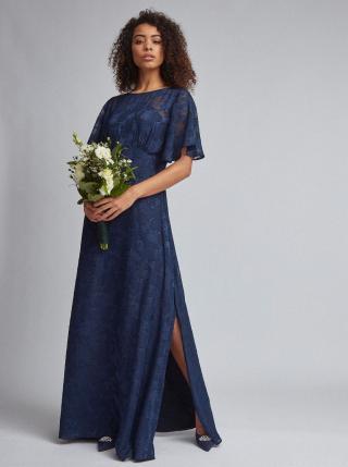Dorothy Perkins modré maxi šaty - S dámské modrá S