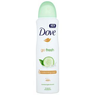 Dove Go Fresh Fresh Touch deodorant antiperspirant ve spreji 48h okurka a zelený čaj 150 ml dámské 150 ml