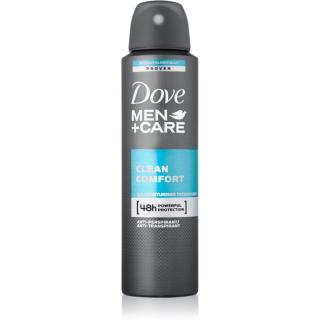 Dove Men Care Clean Comfort deodorant antiperspirant ve spreji 48h 150 ml pánské 150 ml