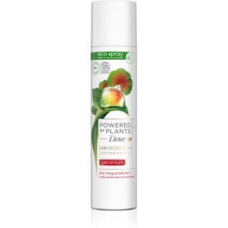 Dove Powered by Plants Geranium osvěžující deodorant ve spreji 75 ml dámské 75 ml