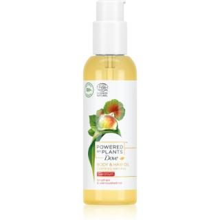 Dove Powered by Plants Geranium výživný olej na tělo a vlasy 100 ml dámské 100 ml
