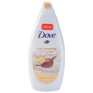 Dove Purely Pampering Shea Butter pěna do koupele bambucké máslo a vanilka 500 ml dámské 500 ml