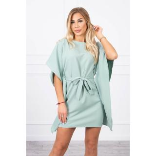 Dress batwings Oversize dark mint dámské Neurčeno One size