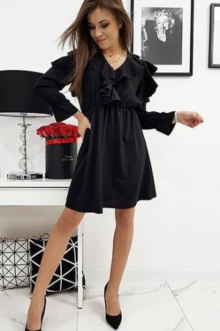 Dress CELINE black EY0588 dámské Neurčeno One size