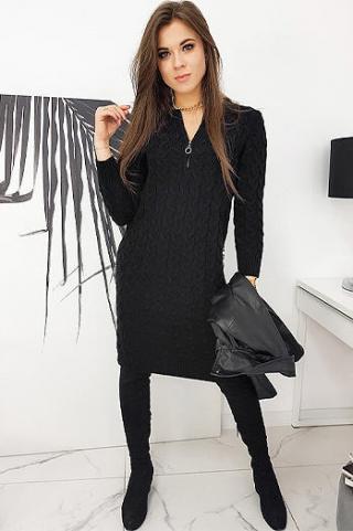 Dress MISHA black EY1412 dámské Neurčeno One size