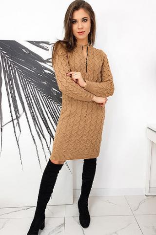 Dress MISHA camel EY1413 dámské Neurčeno One size