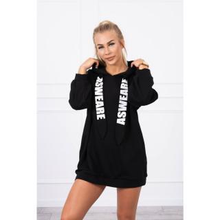 Dress with a pocket on the back black dámské Neurčeno One size