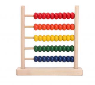 Dřevěná hračka - Počítadlo