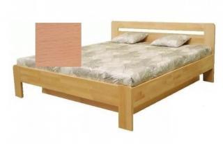 Dřevěná postel kars 2, 180x200, vč. výkl.roštu a úp, bez matrace buk