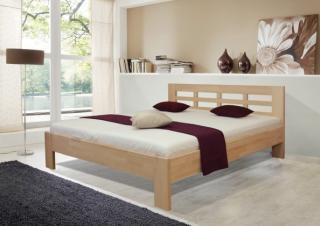 Dřevěná postel vegas 2, 180x200, vč. výkl.roštu a úp,bez matrace buk