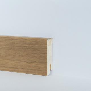 Dřevěná soklová lišta dub – lak 16x58 délka 2,5 m FLESV6-OAK1D0