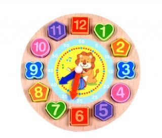 Dřevěné hodiny - 4 varianty Varianta: 1