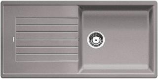 Dřez Blanco ZIA XL 6 S aluminium 517569 šedá aluminium