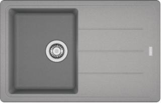Dřez Franke BFG 611-78 šedý kámen 114.0285.186 šedá šedý kámen