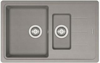 Dřez Franke BFG 651-78 šedý kámen 114.0285.224 šedá šedý kámen
