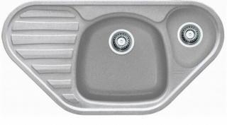 Dřez Franke CUG 651 E šedý kámen 114.0284.894 šedá šedý kámen