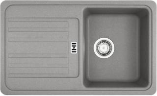 Dřez Franke EFG 614-78 šedý kámen 114.0120.090 šedá šedý kámen