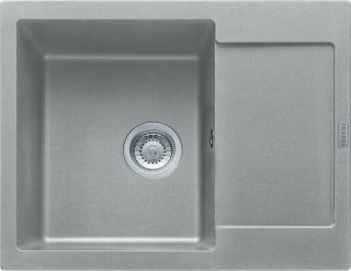 Dřez Franke MRG 611-62 šedý kámen 114.0284.764 šedá šedý kámen