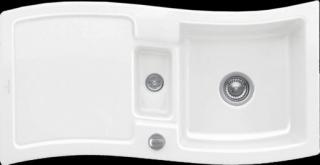 Dřez Villeroy & Boch Newwave 60 bílá 671601R1 bílá bílá