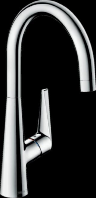 Dřezová baterie Hansgrohe Talis M51 s otočným raménkem chrom 72812000 chrom chrom