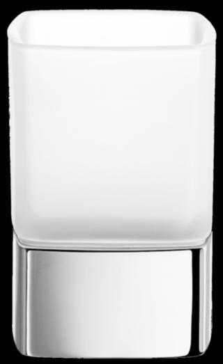 Držák kartáčků Inda Cubo chrom A2910ZCR21 chrom chrom