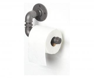 Držák na toaletní papír Černá
