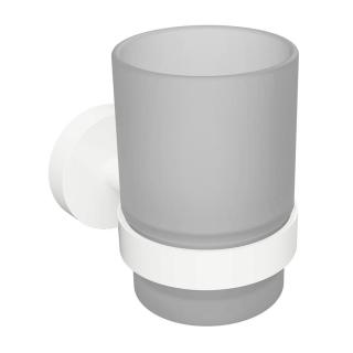 Držák skleniček Bemeta WHITEvčetně skleničky bílá 104110014 bílá bílá