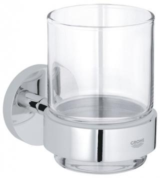 Držák skleniček Grohe Essentials chrom 40447001 chrom chrom
