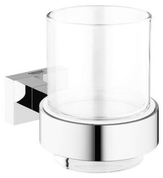 Držák skleniček Grohe Essentials Cube chrom 40755001 chrom chrom