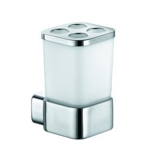 Držák skleniček KLUDI E2včetně skleničky chrom 4998205 chrom chrom