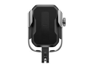 Držák telefonu na řídítka Baseus Armor Motorcycle Holder stříbrná/černá