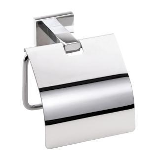 Držák toaletního papíru Bemeta PLAZAs krytem chrom 118112012 chrom chrom