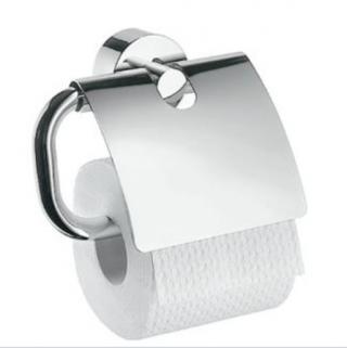 Držák toaletního papíru Hansgrohe Axor Uno chrom 41538000 chrom chrom